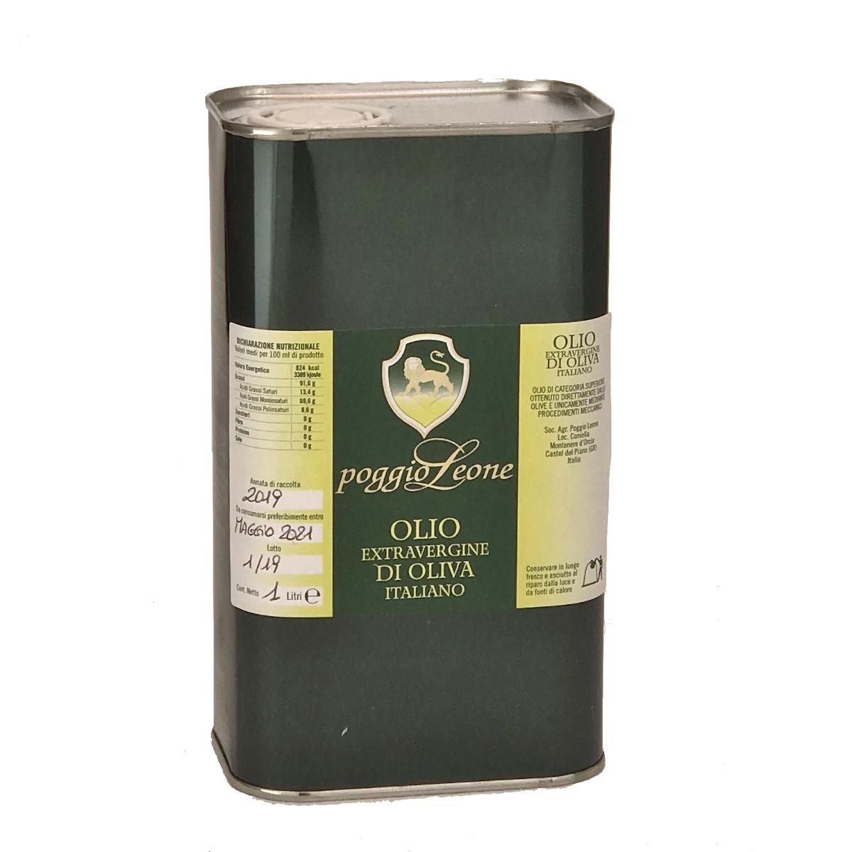 Olivenöl extra vergine aus Italien - Poggio Leone