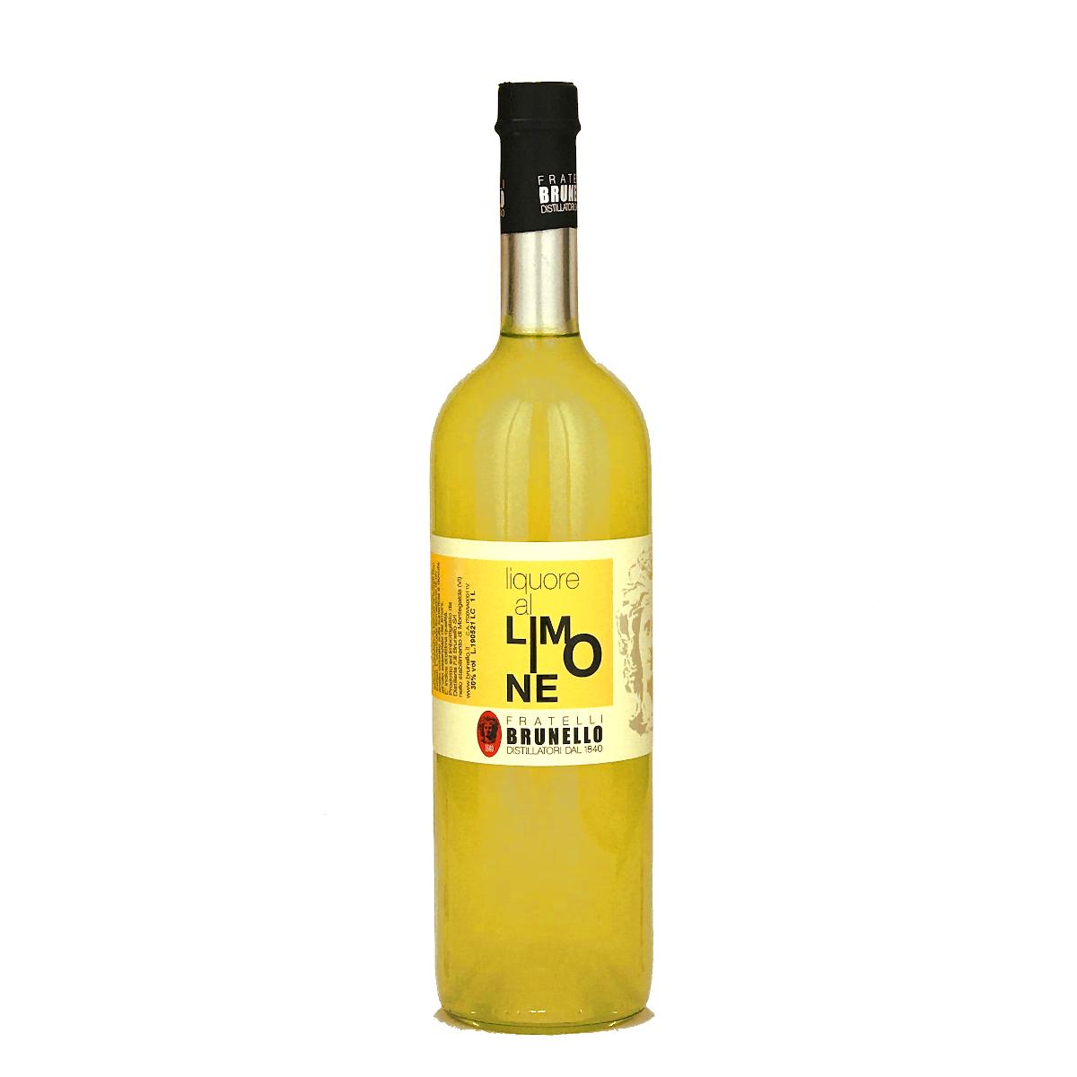 Liquore al Limone - Limoncello - große Flasche - Fratelli Brunello