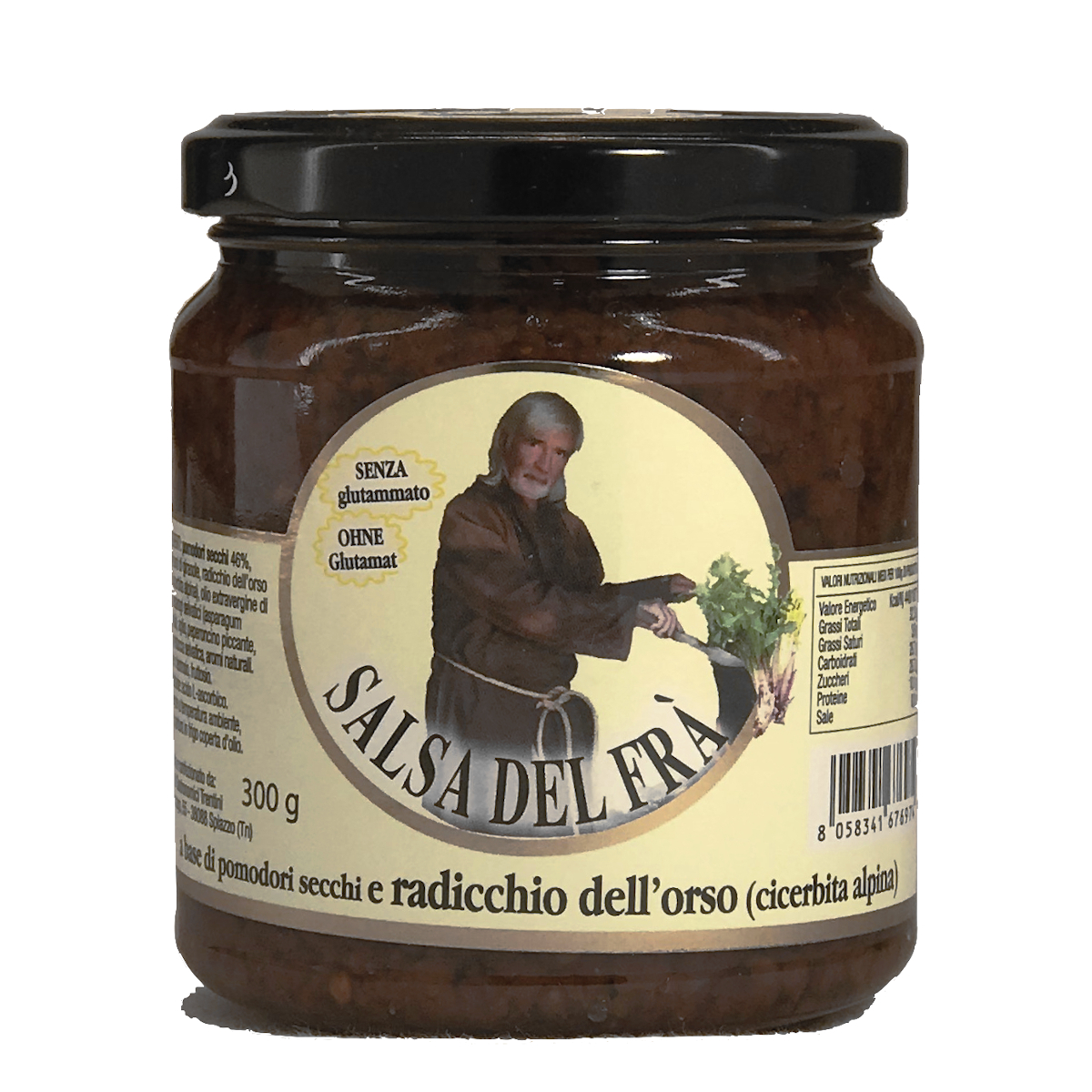 Salsa del Frà - milde Wildgemüsesauce  300 g - Mario Masè Frà