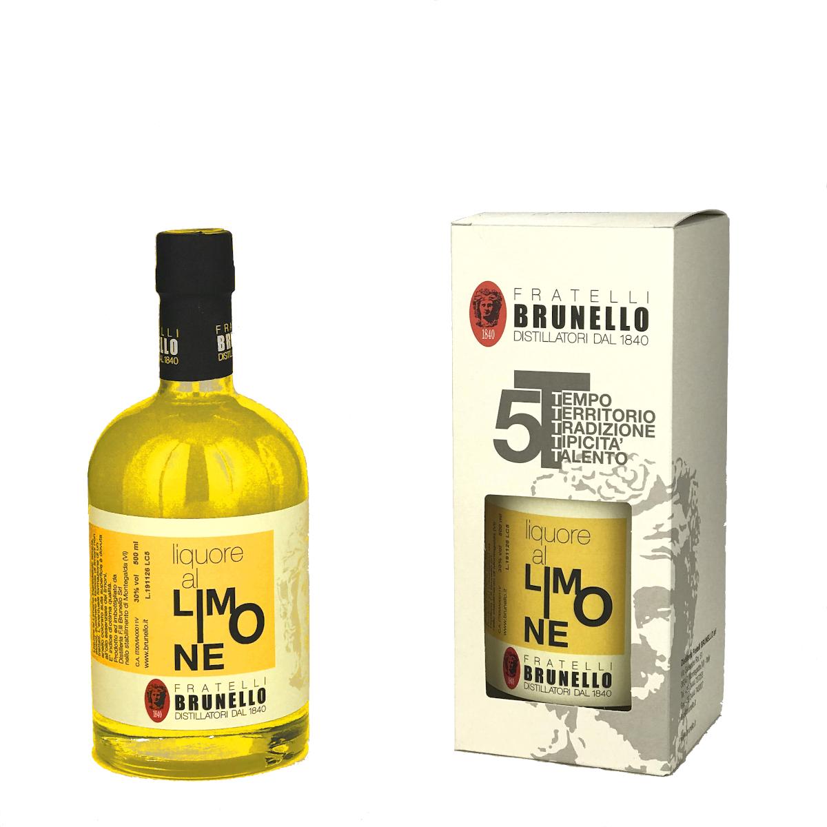 Liquore al Limone - Limoncello - Fratelli Brunello